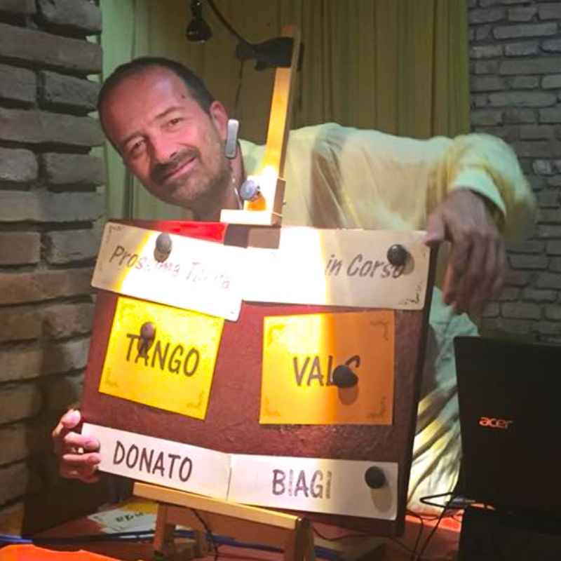 Milonga con DJ Mauro Casadei